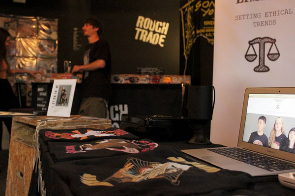 Trend Savvy Rough Trade Stall