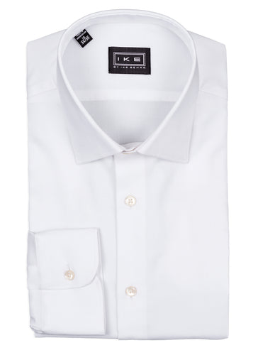 White Royal Oxford Ike by Ike Behar Dress Shirt