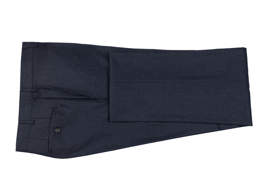 Navy Flannel Dress Pants