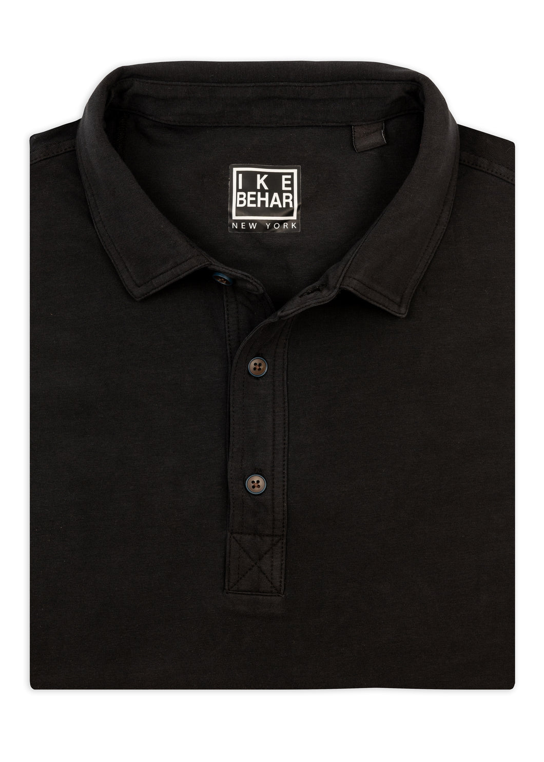 Black Knit Sport Shirt
