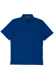 Navy Pima Cotton Polo