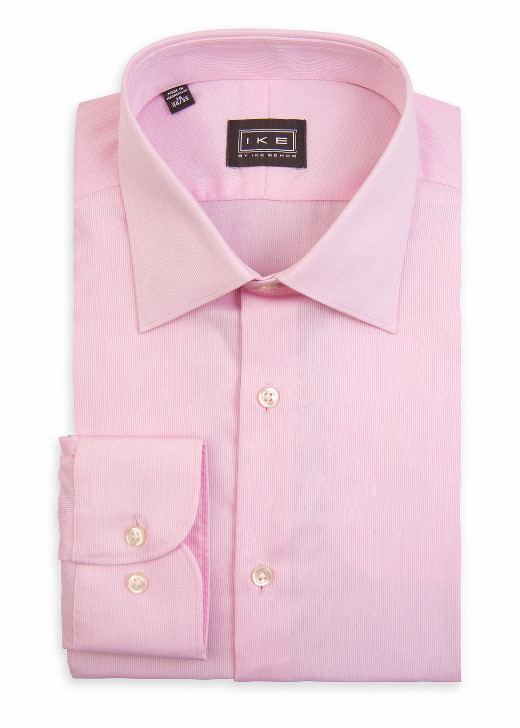 Pink Pique Ike by Ike Behar Dress Shirt