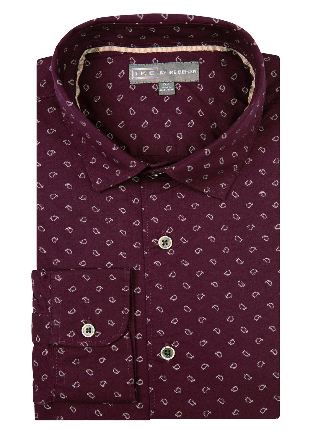Chile Baby Paisley Print Ike by Ike Behar Sport Shirt