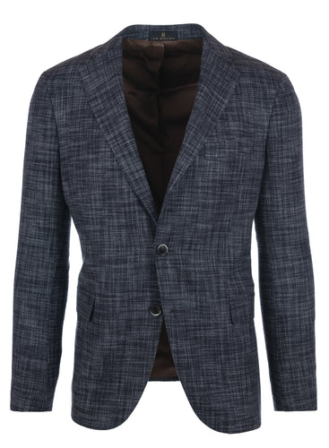 Textured Stone Cashmere Sport Coat