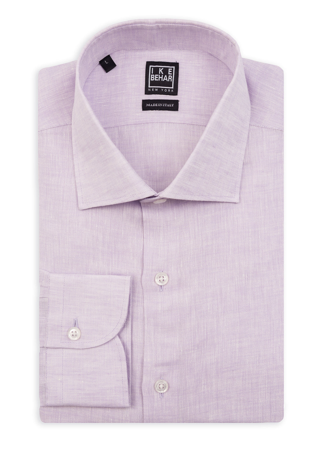 Purple Linen Sport Shirt