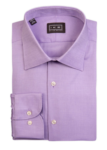 Lavender Royal Oxford Ike by Ike Behar Dress Shirt