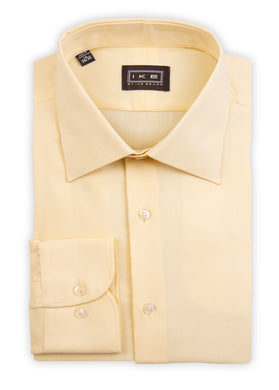 Beige Royal Oxford Ike by Ike Behar Dress Shirt