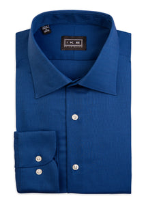 Navy Royal Oxford Ike by Ike Behar Dress Shirt