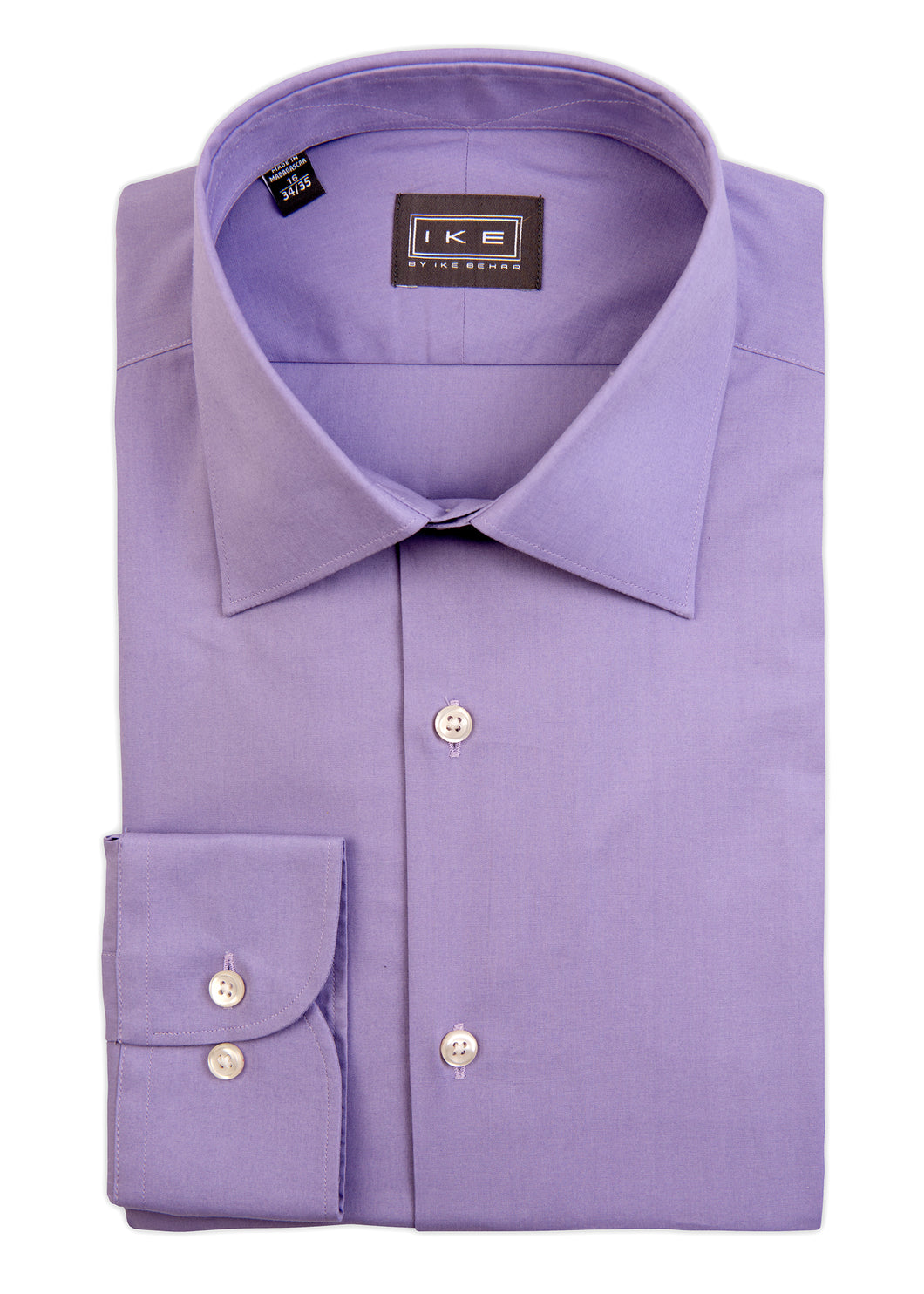 Lavender Broadcloth Ike by Ike Behar Dress Shirt