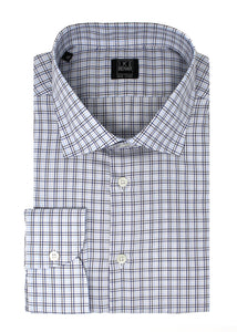 Blue Multi-Check Sport Shirt