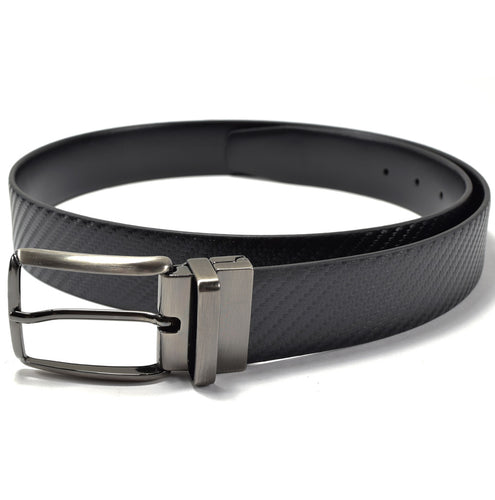 the continental collection by ike behar reversible belt black inspired by john wick