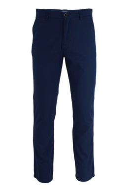 Navy Ike By Ike Behar Stretch Cotton Chino Pants