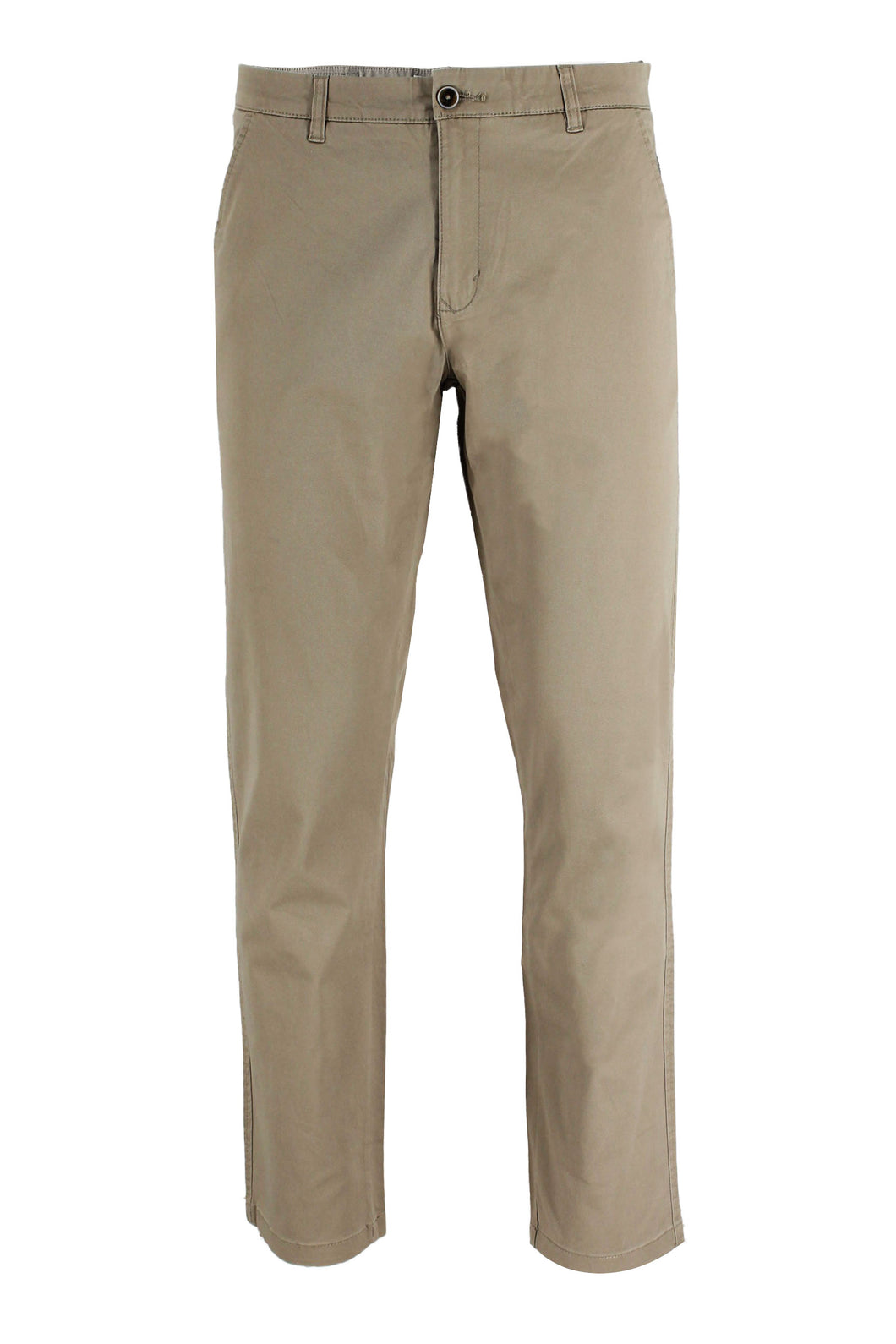 Khaki Ike By Ike Behar Stretch Cotton Chino Pants