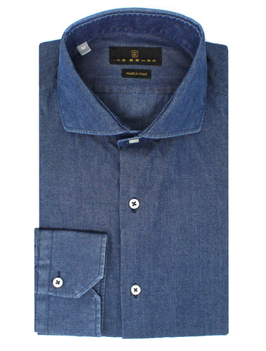 Medium Wash Denim Sport Shirt