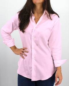Ladies' Pink Twill Shirt