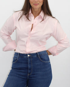 Ladies' Pink Mini-Diamond Shirt