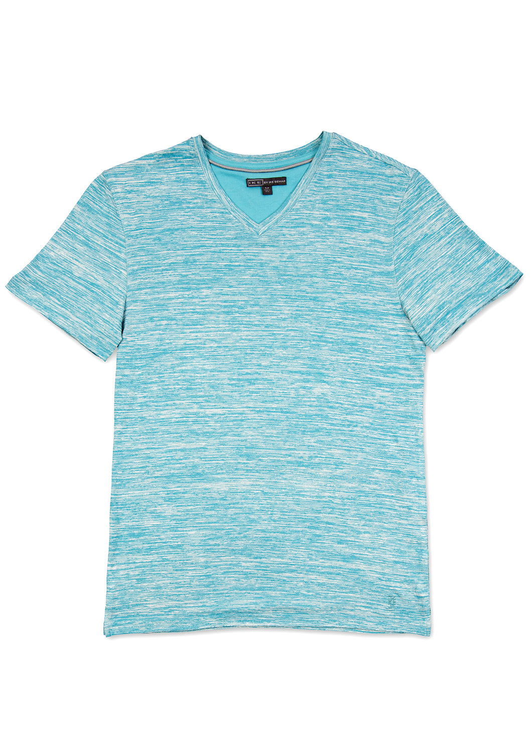 Foam Blue V-Neck Jersey T-Shirt