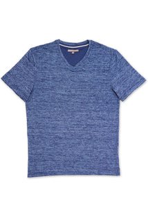 Navy V-Neck Jersey T-shirt