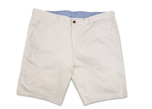 Flat Front Stretch Stone Shorts