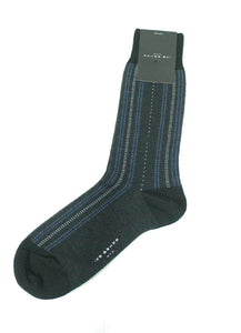 Black Pin Dot Socks