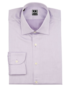 Lavender Twill Dress Shirt