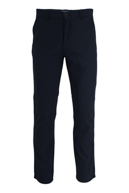 Almost Black Ike By Ike Behar Stretch Cotton Chino Pants