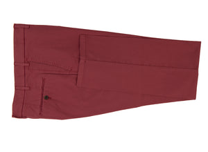 Berry Stretch Cotton Pants