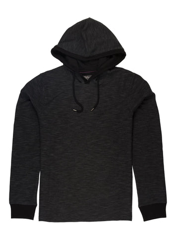 Almost Black Ike by Ike Behar Performance Hoodie