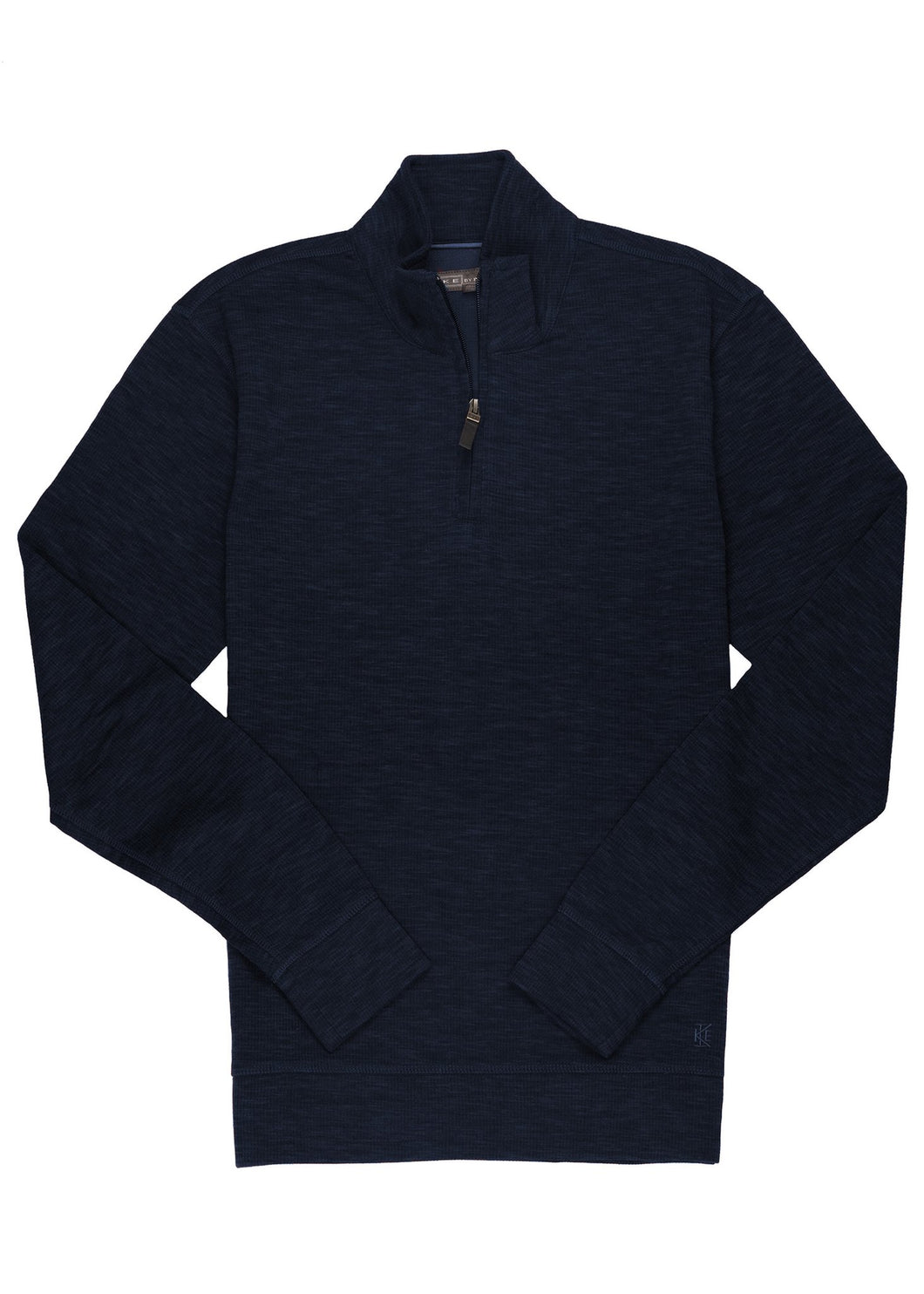 Ike by Ike Behar Performance 1/4 Zip Navy Pullover
