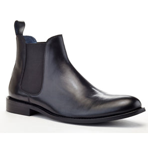 the continental collection by ike behar chelsea hybrid boot black inspired by john wick