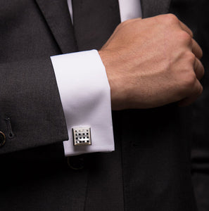Continental Pearl Cufflinks