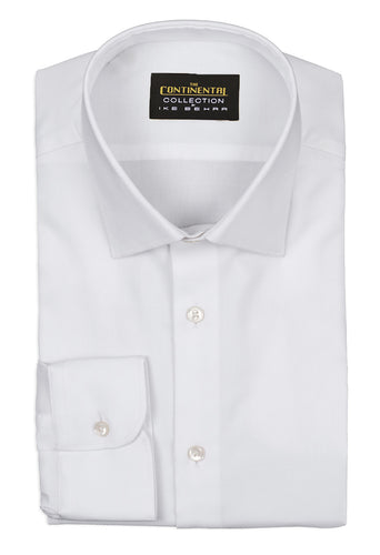 the continental collection by ike behar white royal oxford dress shirt inspired by john wick