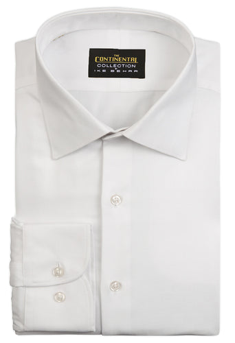 the continental collection by ike behar white herringbone dress shirt inspired by john wick
