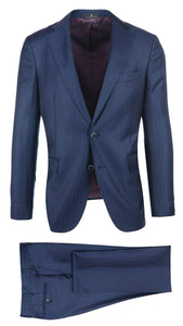 Navy Pin Stripe Suit