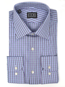 Dobbie Dot Multi-Stripe Ike by Ike Behar Dress Shirt