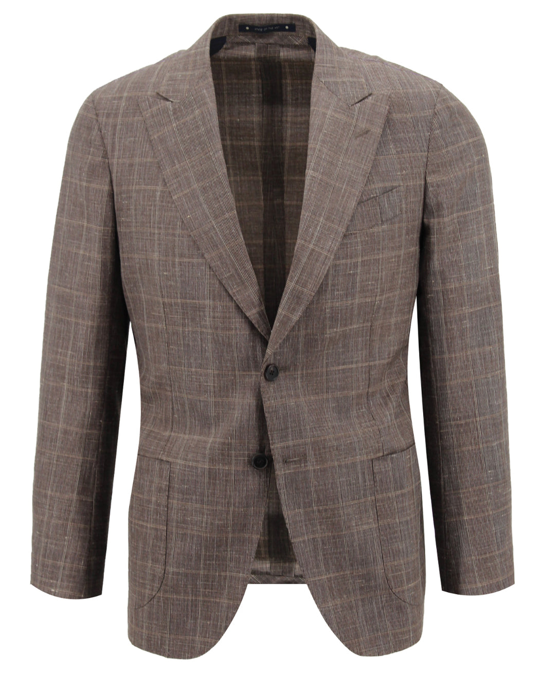 Tan Glen Plaid Suit