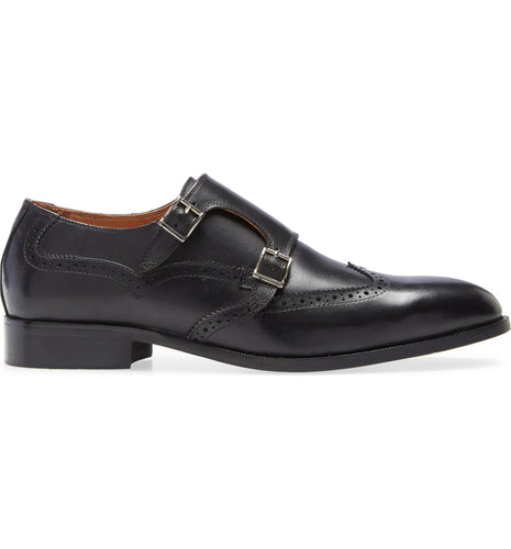Easton Double Monk Strap Loafer
