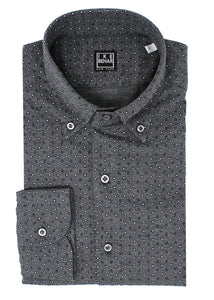 Grey Knit Sport Shirt