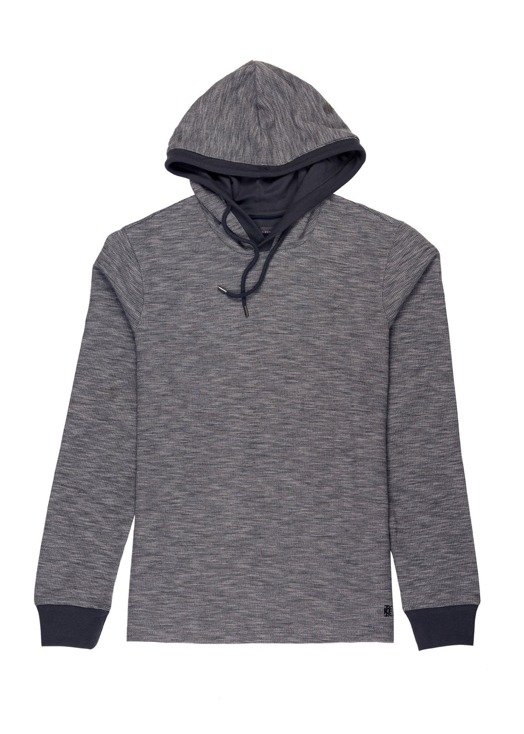 Grey Ike by Ike Behar Performance Hoodie