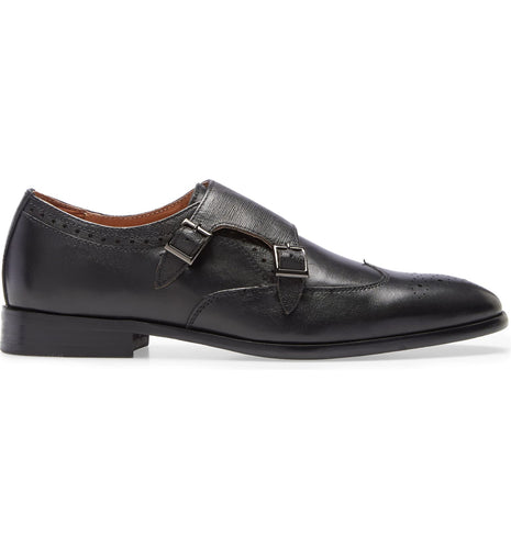 Hart Double Monk Strap Loafer