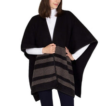 Chevron Print Women's Reversible Fashion Wrap