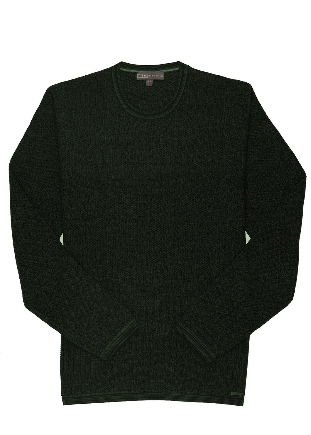 Moss Ike by Ike Behar Cotton Seed Stitched Sweater