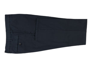 Navy Stretch Cotton Pants