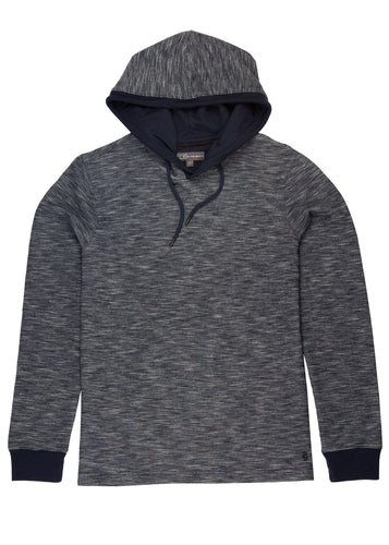 Navy Ike by Ike Behar Performance Hoodie