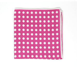 Pink Dot Pocket Square