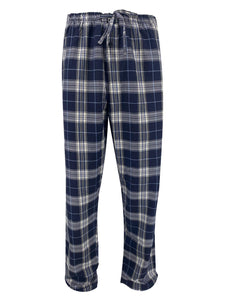 Plaid Cotton Pajama Pant