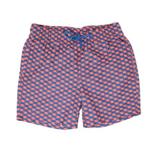 Rose Optical Cube Swim Shorts