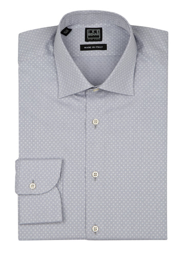 Charcoal Dot Dress Shirt