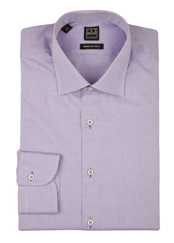 Purple Textured Dress Shirt
