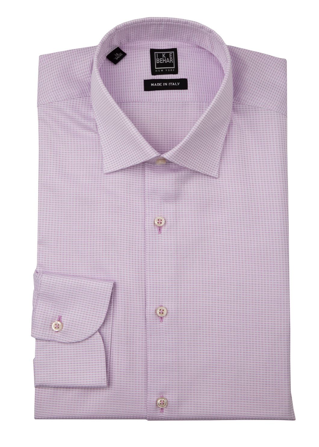 Pink Textured Dress Shirt